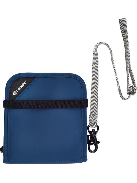 Pacsafe RFIDsafe V100 - Porte-monnaie - bleu